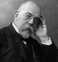 Немецкий микробиолог, доктор Роберт Кох